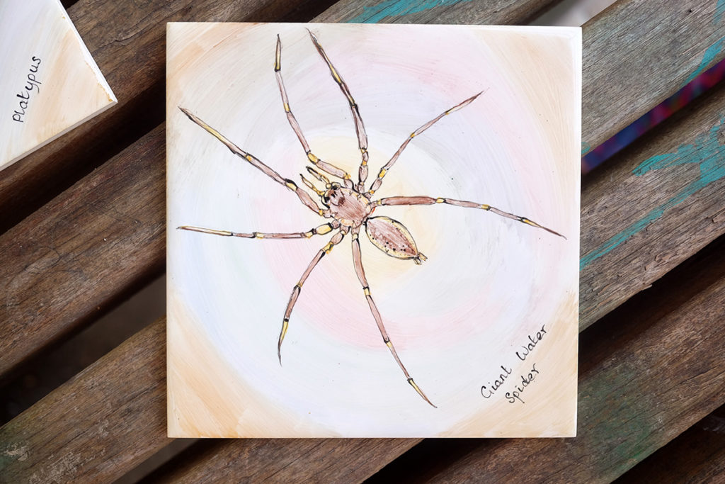 Giant Water Spider tile